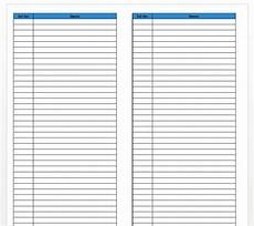 Phone Extension List Template Excel Business Phone Extension List Templates At