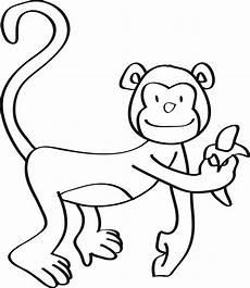 Mono Para Colorear Dibujos De Monos Para Colorear Dibujos F 225 Ciles De Hacer