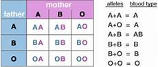 Blood Type Heredity Chart Tl S Journey Of Life Chapter One Facts Blood Type
