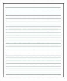 Blank Line Paper 14 Lined Paper Templates In Pdf Free Amp Premium Templates