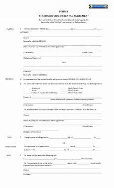 Free House Rental Lease Printable Residential Free House Lease Agreement Free