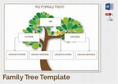 Family Tree Format Online 25 Family Tree Templates Free Sample Example Format