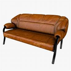 Modern Leather Sofa 3d Image by 3d Model Of Stylish Modern Sofa Leather