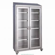 medwurx mobile stainless steel instrument supply cabinets