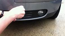 Volvo S40 Fog Lights Volvo S40 Fog Light Cover Removal Youtube