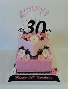 30th Birthday Cake Designs For Her My 30 Th Birthday Cake Cake Ideas Pinterest