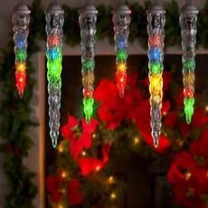 Extra Long Icicle Christmas Lights Lightshow 10 Count Led Shooting Star Icicle Christmas