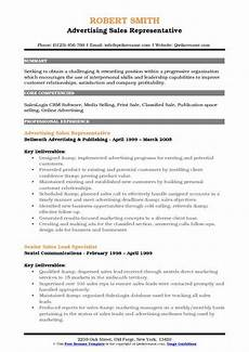 Advertising Sales Resume Samples Advertising Sales Representative Resume Samples Qwikresume