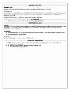 Technical Proficiency In Resume Anubhavkochhar Resume