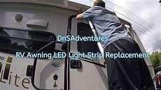 How To Add Led Lights To Rv Awning Replacing And Installing Rv Awning Led Light