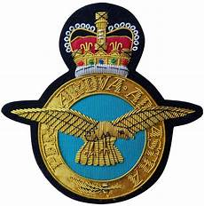 Royal Air Force Designs Royal Air Force Raf Insignia Gold Wired Blazer Embroidered