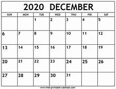 Free December 2020 Calendar Free Printable Calendar Nov Dec 2020 Month Calendar