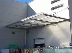 pensilina tettoia in policarbonato plexiglass pensiline in plexiglass tettoie e pensiline