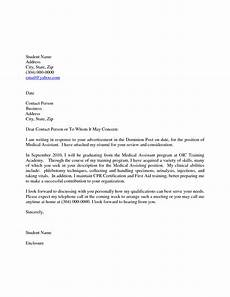 Medical School Cover Letter Cover Letter Examples Medical Assistant World Of Reference