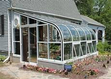 greenhouse sunroom curved eave aluminum greenhouse glass house llc