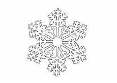 ausmalbild eiskristall winter ausmalbilder