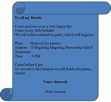 contoh surat undangan ulang tahun bahasa inggris miung com