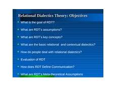 Relational Dialectics Uncertainty Reduction Theory Prepared By Rowie Kirby