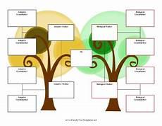 Three Generation Family Tree Chart 3 Generation Adoption Family Tree Template