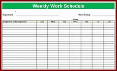 Free Weekly Work Schedule Template Excel Weekly Employee Shift Schedule Template Excel