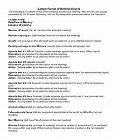 Business Meeting Minutes Template Free 22 Business Minutes Templates Free Sample Example