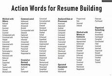 Key Action Words For Resume Action Words For Resumes Resumes Ideas Another