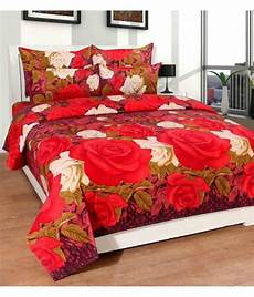Sofa Bed Sheets 3d Image by Homefab India Poly Cotton Multi 3d Print Bed Sheet