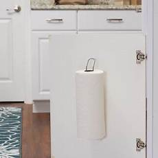 household essentials cabinet door paper towel holder mount