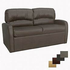 recpro charles 60 quot chestnut knife sleeper sofa with