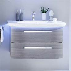 Bathroom Vanity Unit Lights Contea Bathroom Wall Hung Vanity Unit 2 Drawers Buy Online