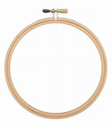 6 quot wood embroidery hoop with edges jo