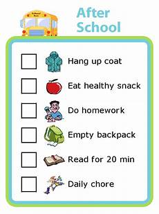 Make Your Own School Schedule Free Printables Age Appropriate Chores For Kids After