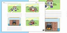 childrens story template the three little pigs storyboard template storyboard pigs