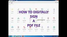 How To Do A Sign Chart How To Digitally Sign A Pdf File By Dsc Youtube