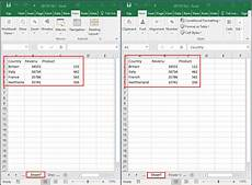 Comparing Excel Sheets How To Compare Two Sheets In Same Workbook Or Different