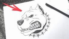 desenho para desenhar como desenhar um cachorro pitbull bravo desenhos faceis