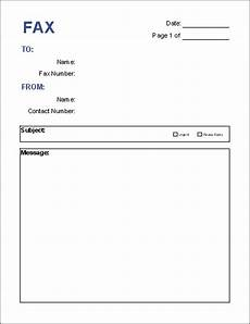 General Fax Cover Sheet Free Fax Cover Sheet Template Download Printable