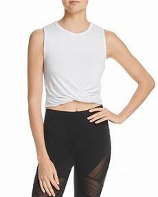workout clothes covers alo cover twist front cropped tank smokey quartz