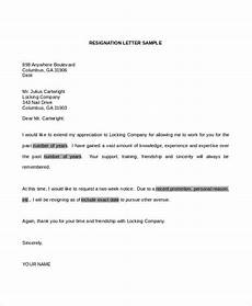 Letter Format For Word 34 Resignation Letter Word Templates Free Amp Premium