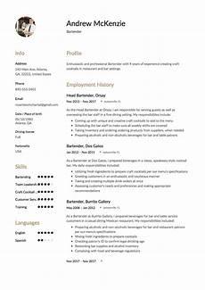 New Bartender Resume Bartender Resume 12 Samples 2020 Free Pdf Amp Word