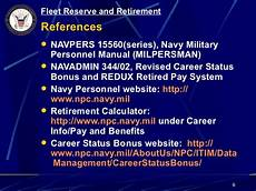 Navy Reserve Retirement Chart Topic 1 19 Fleet Reserve Amp Retirement