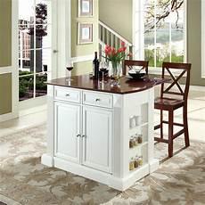 kitchen island lowes shop crosley furniture 48 in l x 35 in w x 36 in h white