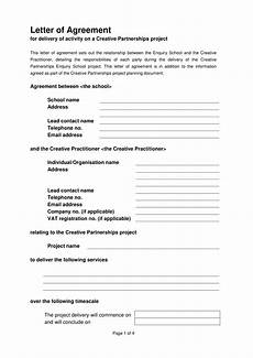 Letters Of Agreement Templates 22 Letter Of Agreement Examples Pdf Doc Examples