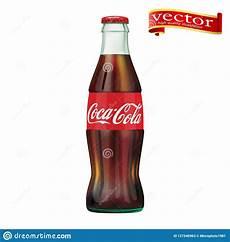 Coca Cola St Petersburg Fl St Petersburg Russia September 30 2018 Illustration