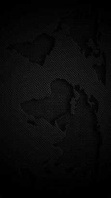 Iphone Wallpaper Hd Black by World Map Iphone 5s Wallpaper Choose More In