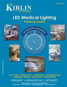 Kirlin Mri Lighting Kirlin S Led Medical Lighting Catalog 19med By The Kirlin