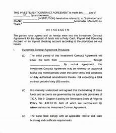 Sample Investor Agreement Free 19 Investment Contract Templates In Pdf Ms Word