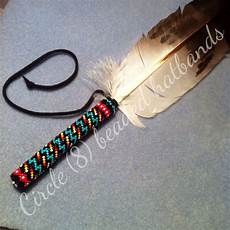 beaded feather quot circle 8 beadwork quot feather crafts