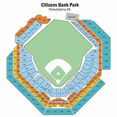 Citizens Bank Seating Chart Citizens Bank Park Seating Chart Views Amp Reviews