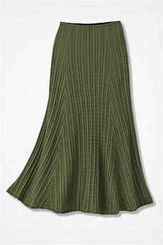 cable knit skirt coldwater creek